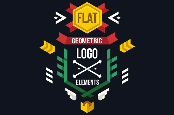 Geometric Vector Logo Elements