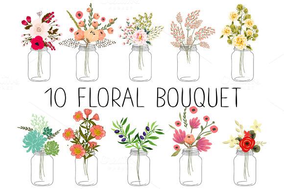 10 Floral Bouquets Ўн2