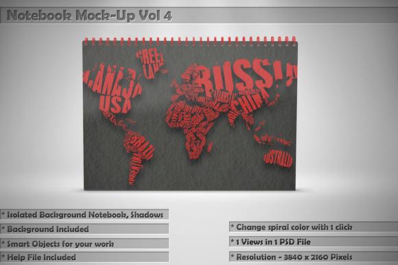 Notebook Mock-Up Vol 4