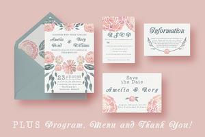 Watercolour Wedding Suite