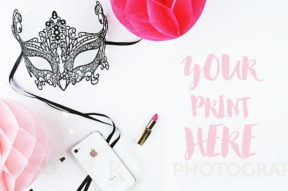 Styled photography. Mockup party - Product Mockups