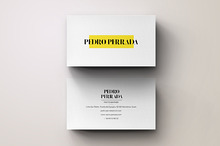 Simple Modern Business Card Design