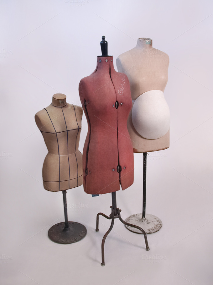 vintage tailor dummy mannequins ii beauty amp fashion