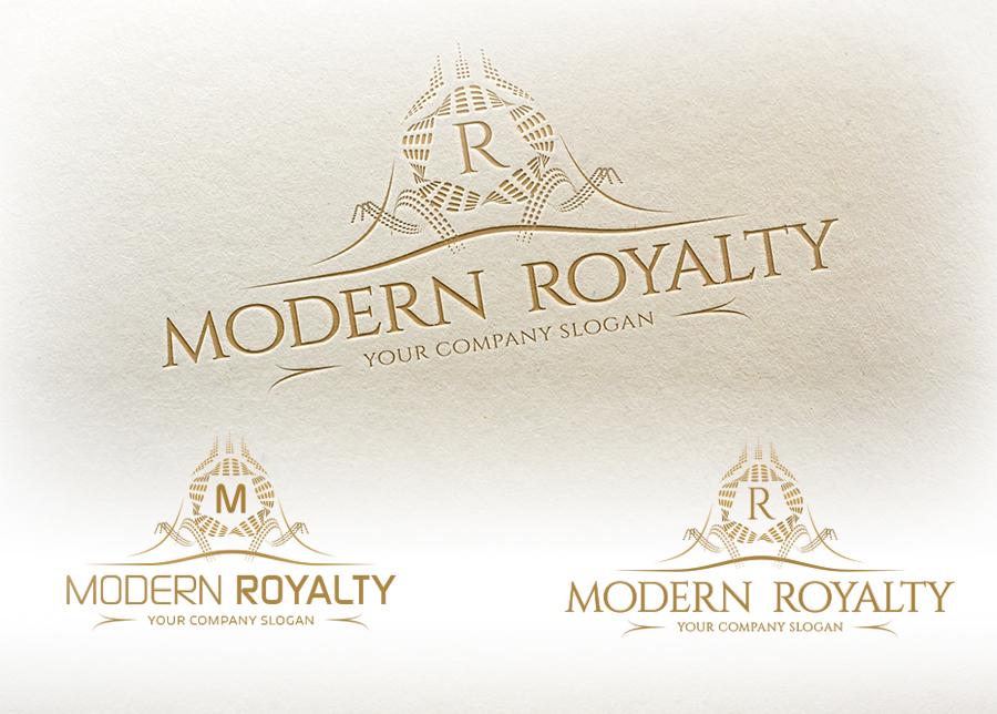 Modern Royalty Logo Template Logo Templates On Creative