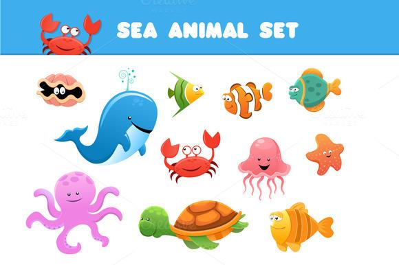 Sea Animal Set