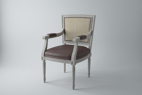 Lyon Square Back Arm Chair