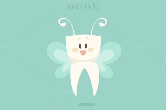Tooth Fairy Illustration