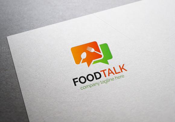 Food Talk Logo