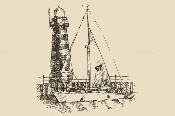 Ship And Beacon