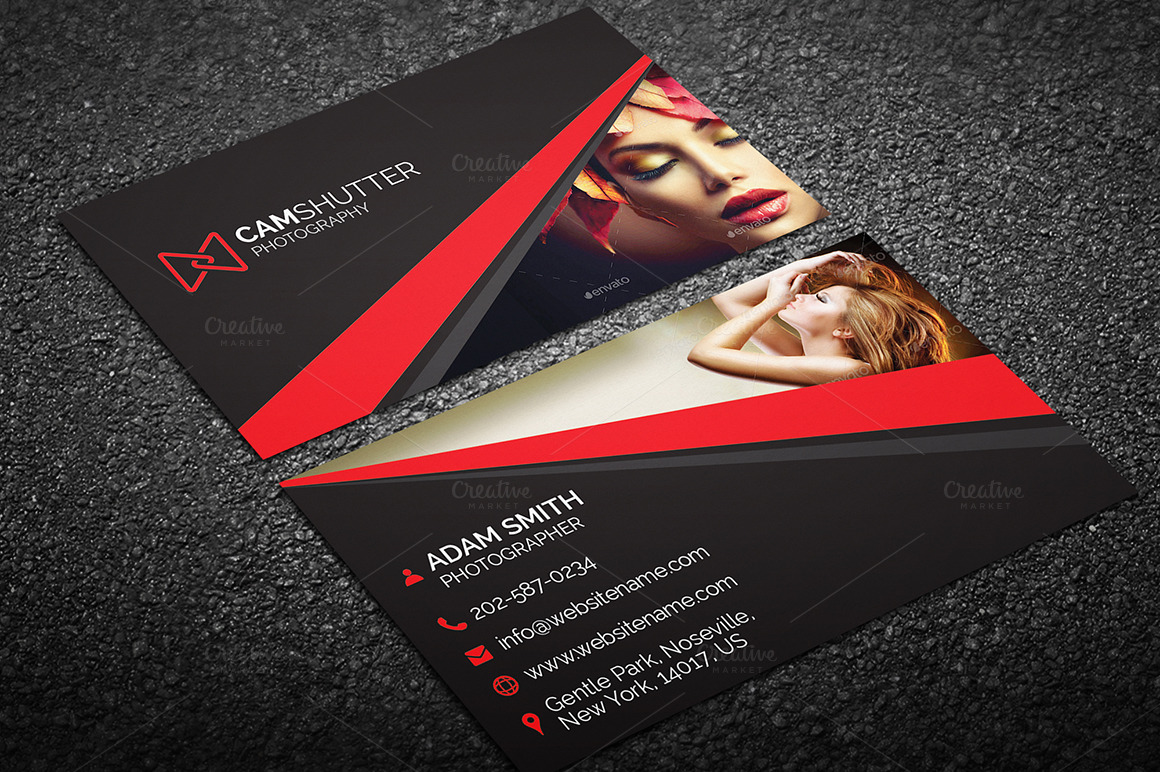 graphy Business Card 55 Business Card Templates on