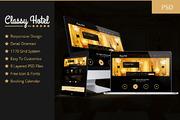 Classy - Booking Hotel Luxu-Graphicriver中文最全的素材分享平台