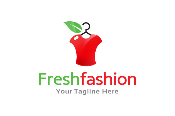 fresh fashion logo logo templates on creative market