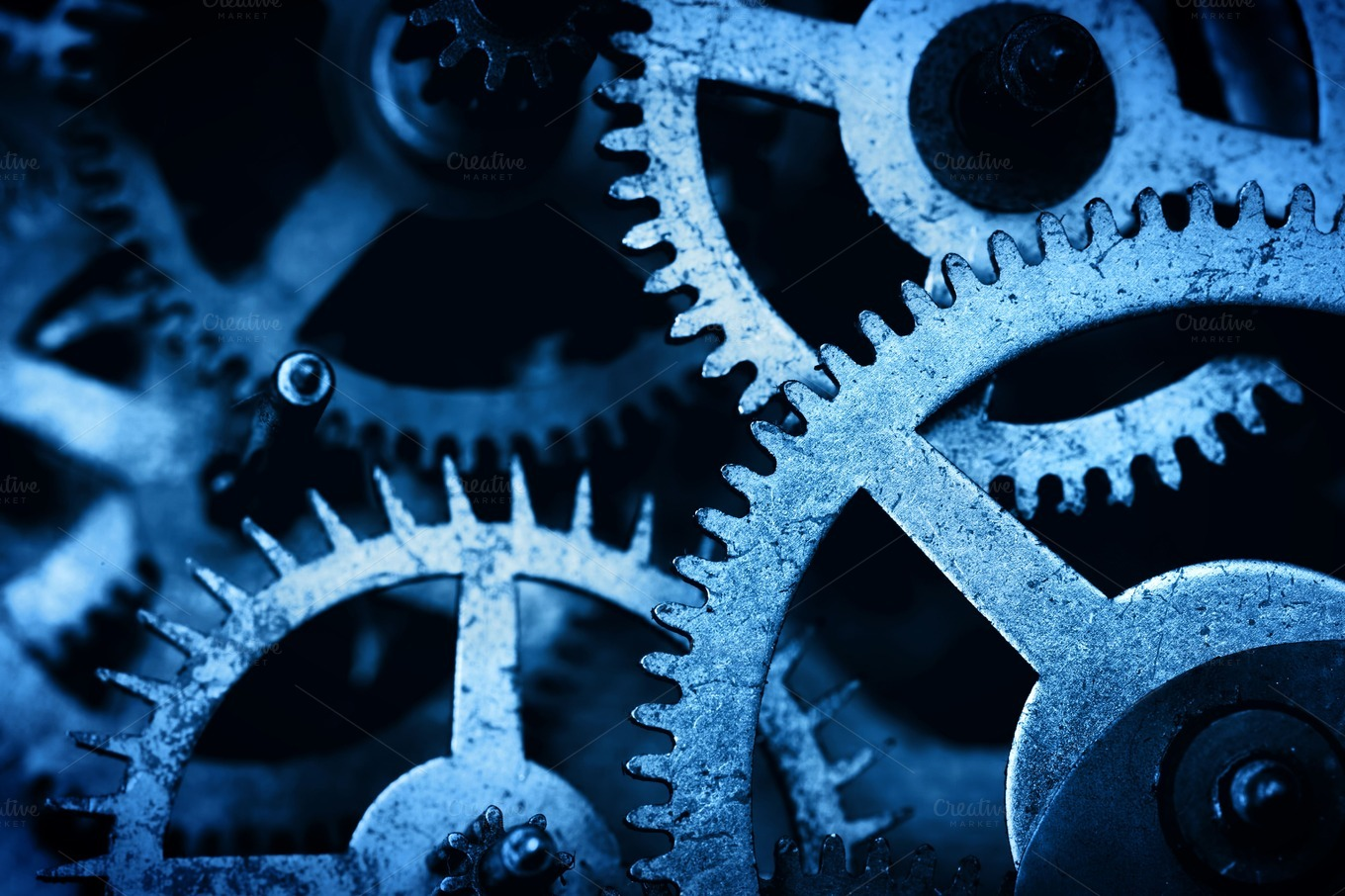 Gear, cog wheels background ~ Technology Photos on ...