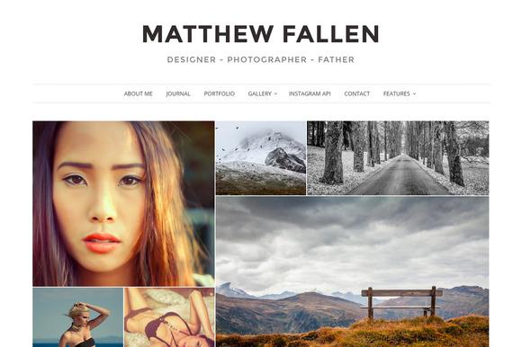 Ella - Photography WordPress Theme - Photography
