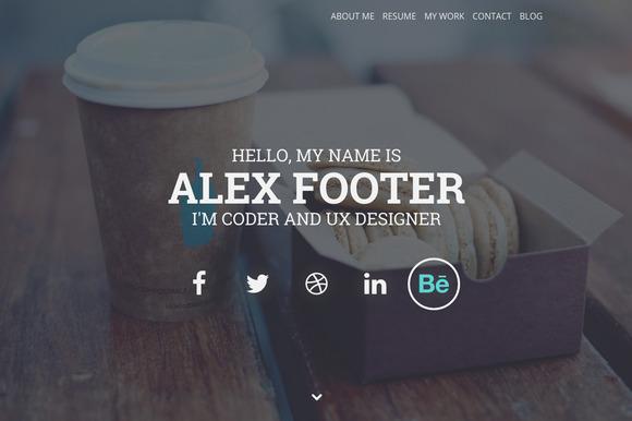 Nitteo Wordpres - One Page Portfolio - Portfolio