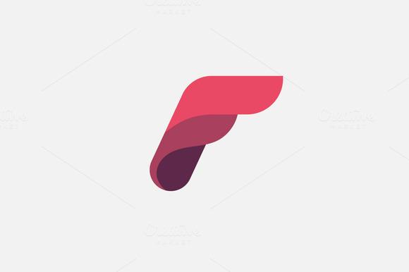 20 f letter logo icon design inspirationtemplates