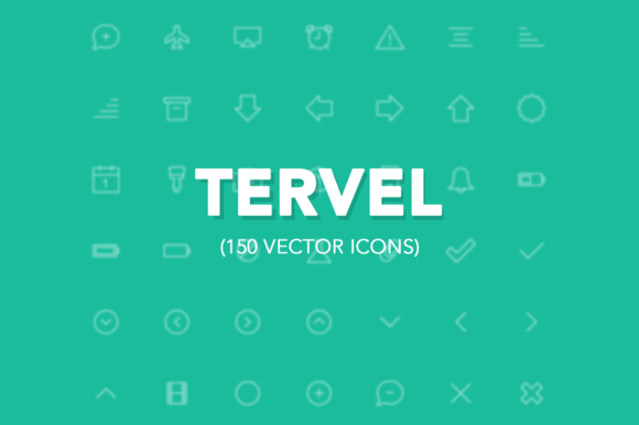 Tervel Vector Stroke Icons IOS7
