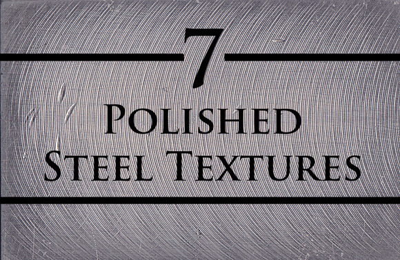 7 Polished Steel Textures