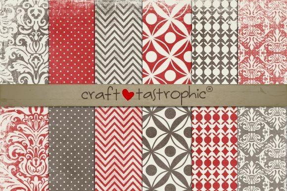 Cherry Mocha Vol. 1 Paper Pack - Patterns