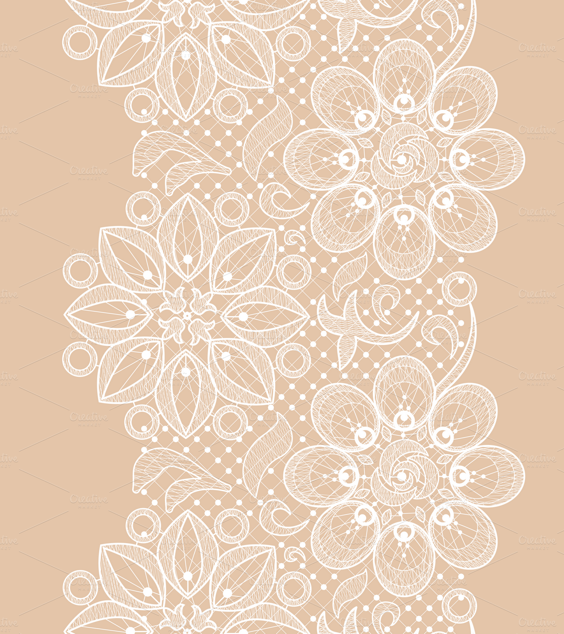 Seamless Lace Patterns Illustrations On Creative Market