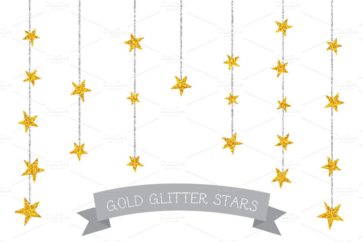 Gold glitter star clip art world photo collection b id com server