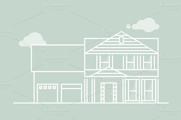 Vector House Illustration
