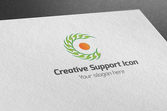 Creative Support Icon Log