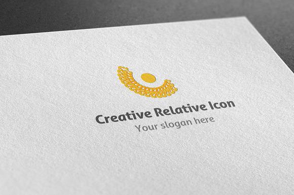 Creative Relative Icon Logo