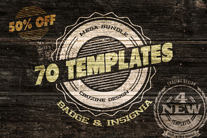 70 Logo / Badge / Insignia Templates