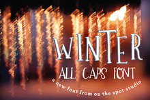 Winter - A Quirky All Caps Font
