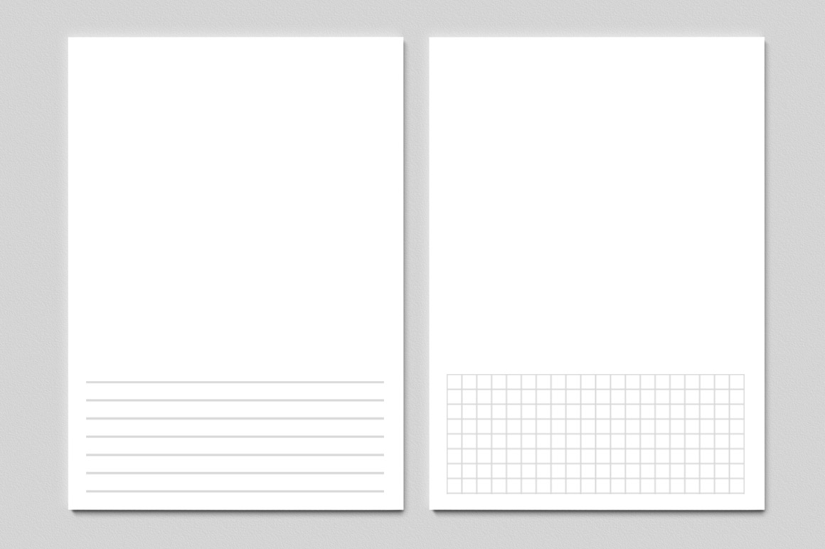 Noteshelf custom paper dimensions