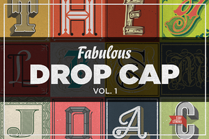 Fabulous Drop Cap