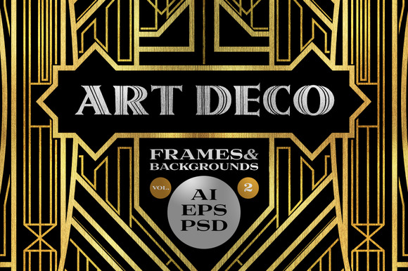 10 Frames Vol.2 - Art Deco Style - Objects