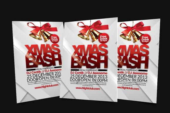 X Mas Bash Flyer