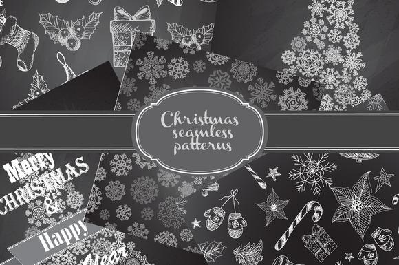 Christmas Seamless Patterns