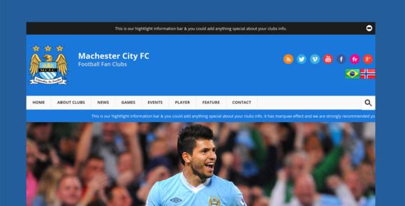 Football Clubs Template