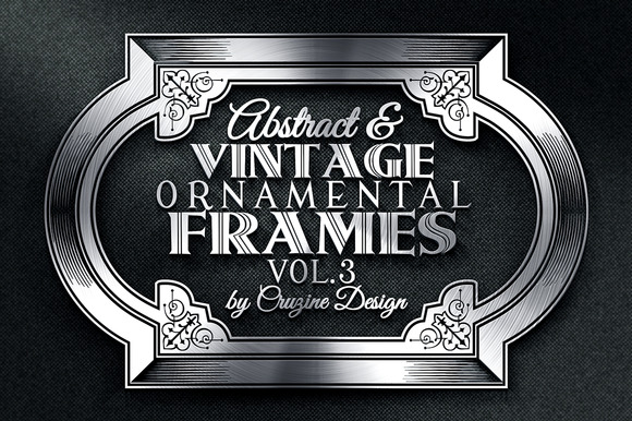 10 Frames Vol.3 - Vintage Ornament - Objects