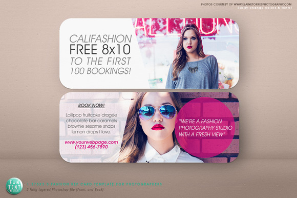 1.375 X 3.5 Modern Fashion Rep Card