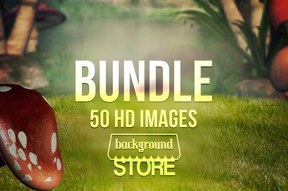 Fantasy Backgrounds Bundle