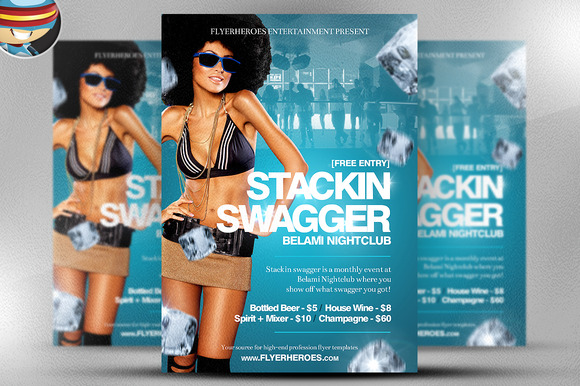 Stackin Swagger Flyer Template