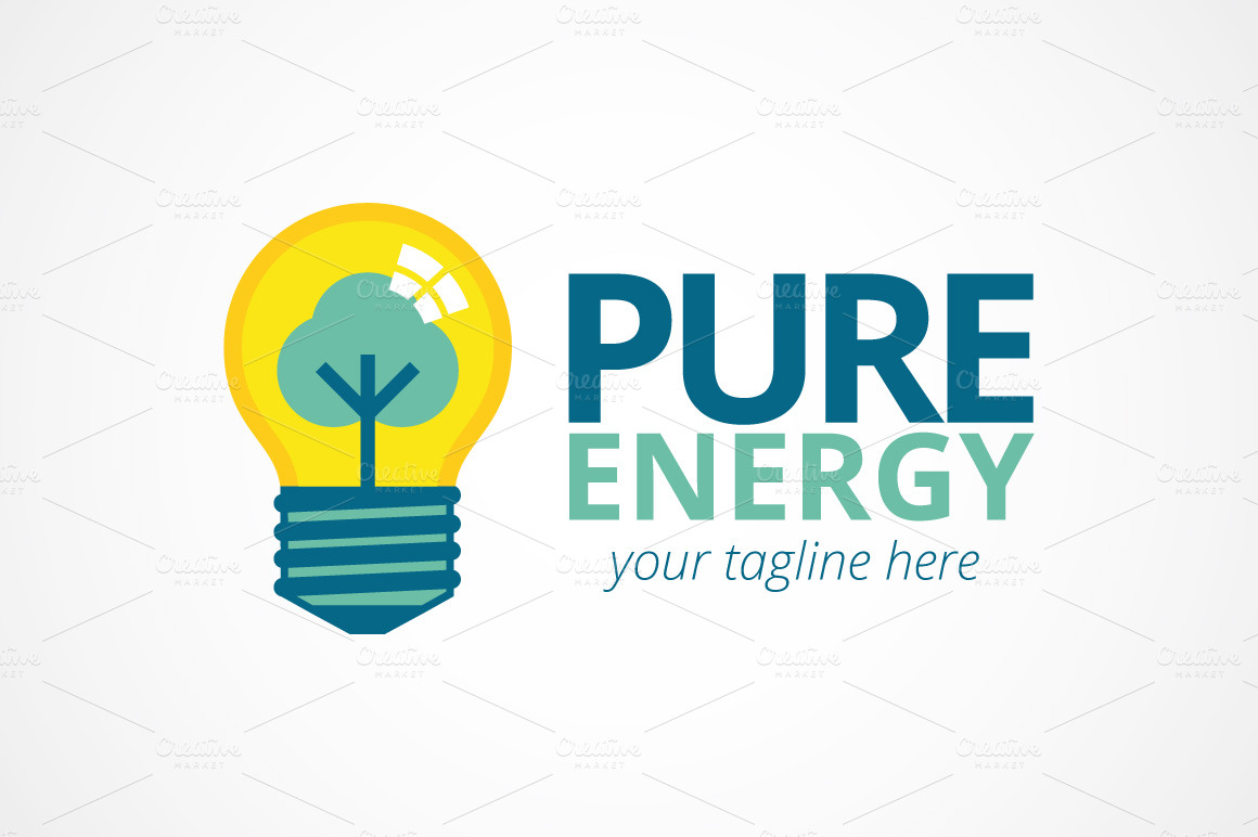 Pure Energy ~ Logo Templates on Creative Market