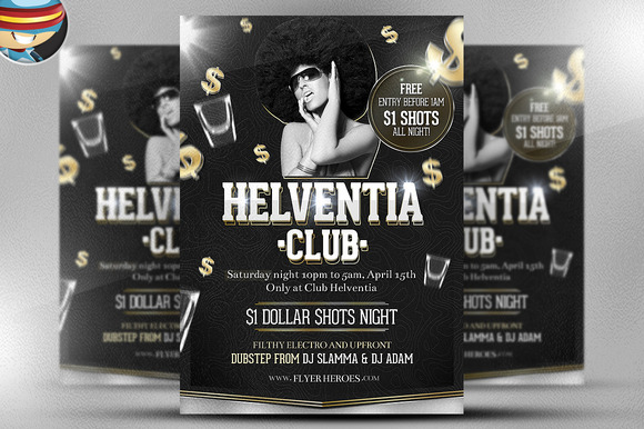 Helventia Flyer Template