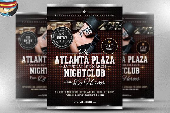 Atlanta Plaza Flyer Template