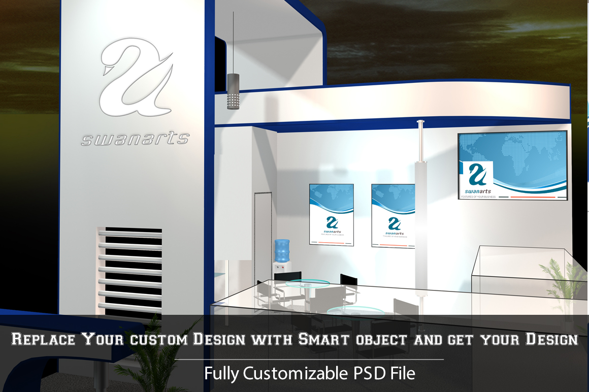 Exhibition Stand Design Mockup Psd : Exhibition stand mockup psd images