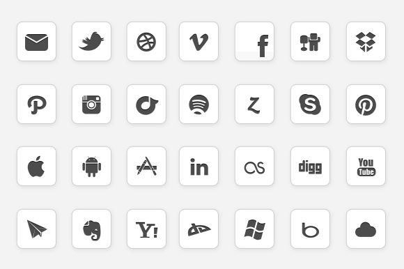 IC Minimal Icon Set - Updated - Icons - 1