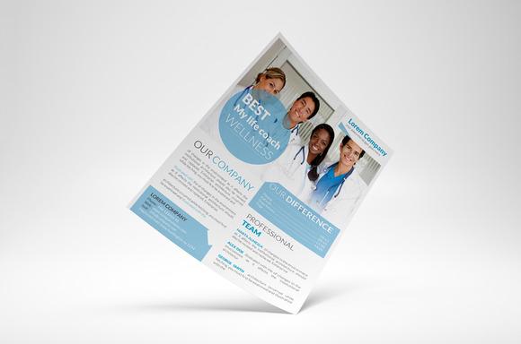 Health Corporate Flyer