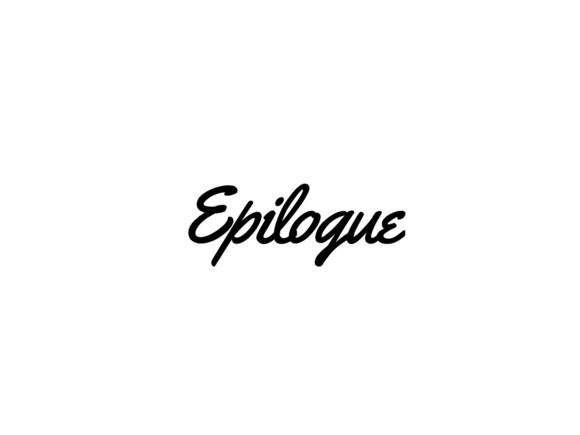 Epilogue PowerPoint Presentation