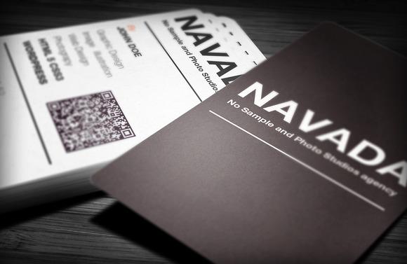 Navada Creative Business Card