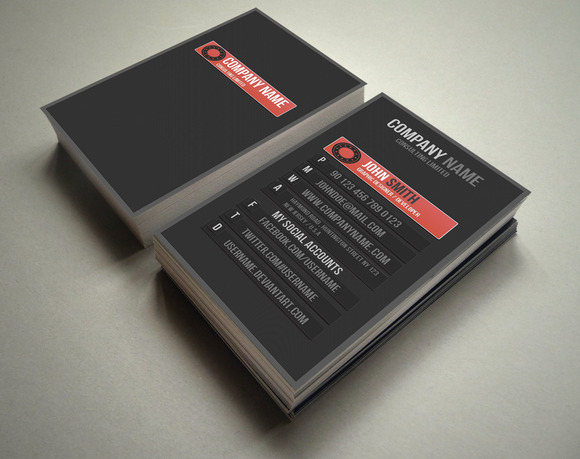 PROFILE Business Card 5 Different Co