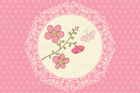 Cute Pink Cards